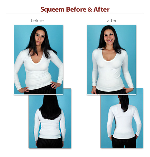 squeem before and after